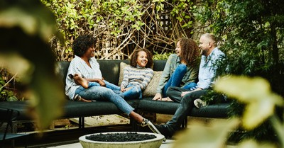 A nuclear family, The percentage of teens raised by a biological mom and dad sees a major increase