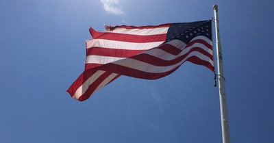 An American flag, How Statism Creates Addicts