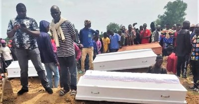 Funeral by Anglican Diocese of Jos for 17 of 33 Christians killed on Aug. 25, Christians Slain in and Near Jos, Nigeria