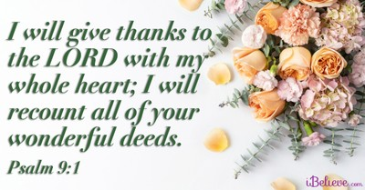 A Prayer to Remember All God's Wonderful Deeds - Your Daily Prayer - September 16