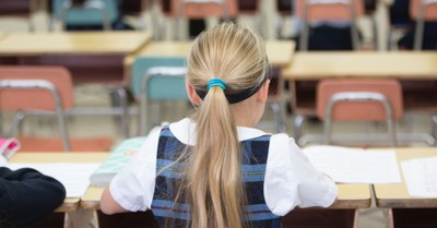 A young Catholic school student, religious schools must be thoroughly religious