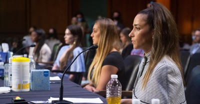 US Gymnasts testifying before congress, US gymnasts testify before congress about the FBI's mishandling of Nassar investigation