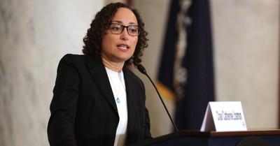 Catherine Lhamon, Lhamon is confirmed to Biden's cabinet