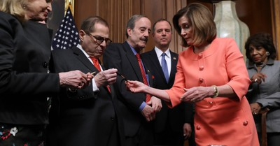 Speaker Pelosi Distributes Souvenir Pens Used to Sign Impeachment Articles: Two Versions of Reality and the Value of Living Biblically