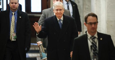 Senator Mitch McConnell Proposes Trump's Impeachment Trial Be Postponed until February