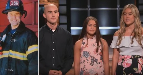 Shark+Tank+Brought+To+Tears+As+Kids+Pitch+Late+Firefighter+Dad%27s+Product+