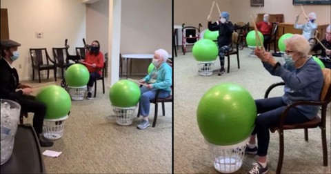 Retirement+Home+Goes+Viral+For+Amazing+Drum+Exercise+Class