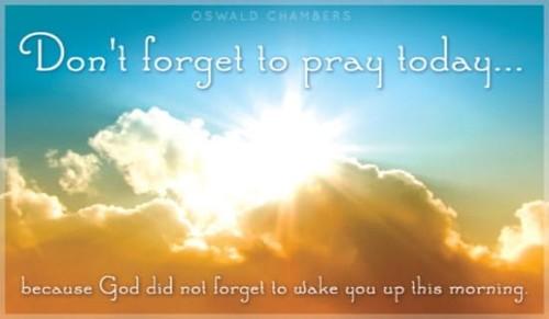 Pray Today