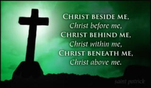 Saint Patrick Quote ecard, online card