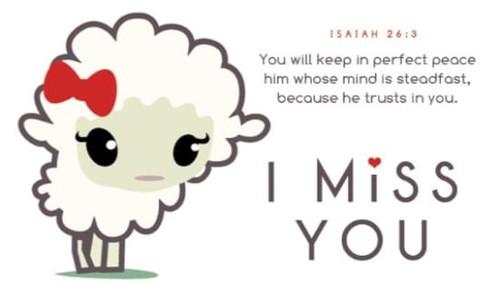 Miss You Lamb