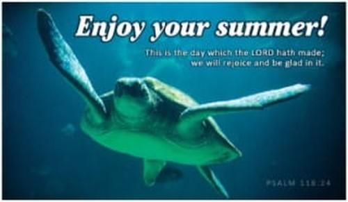 Enjoy Your Summer! ecard, online card