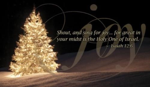 Isaiah 12:6 - Joy