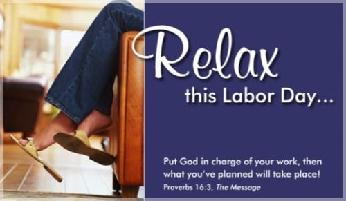 Relax This Labor Day