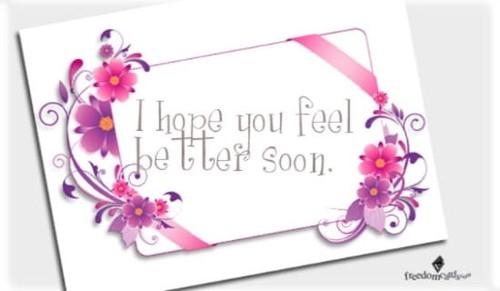 Feel Better Soon!