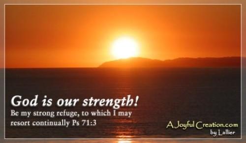 God Our Strength
