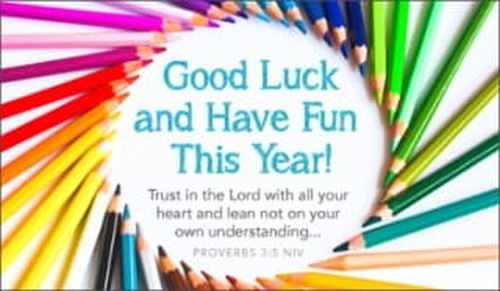 Good Luck This Year ecard, online card