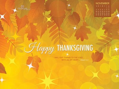 Nov 2013 - Thanksgiving