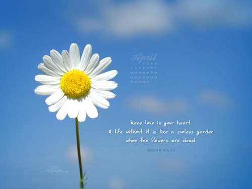 April 2015 - Love in Your Heart