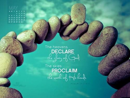 May 2013 - Psalm 19:1 NIV