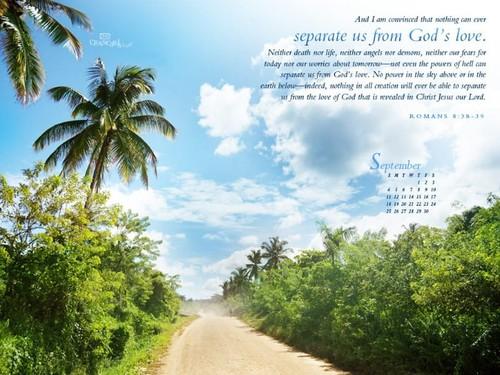 September 2011 - God's Love