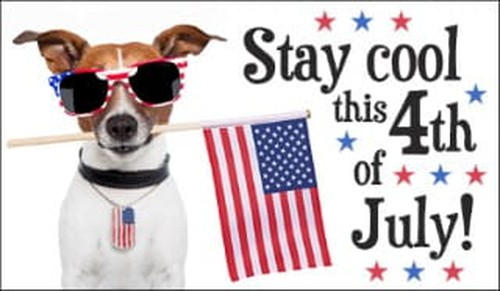 Stay Cool July 4th ecard, online card