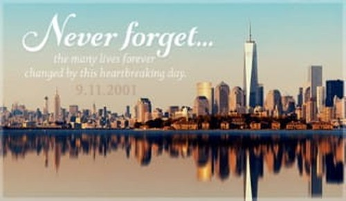 September 11 - Never Forget ecard, online card