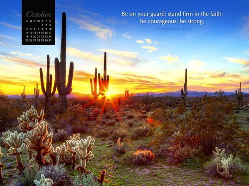October 2015 - Stand Firm in Faith