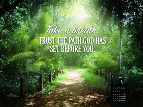 October 2015 - Trust God's Path