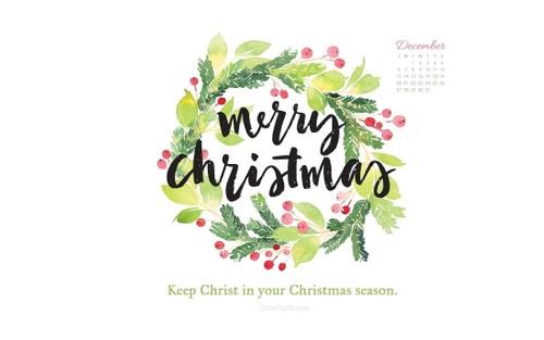 December 2015 - Keep Christ in Christmas