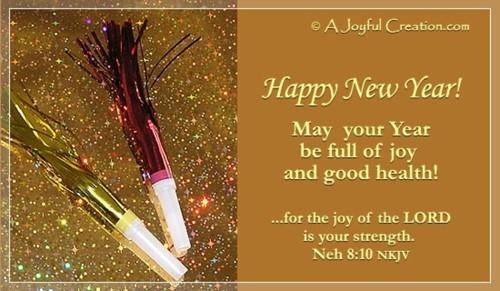 New Year - Joy