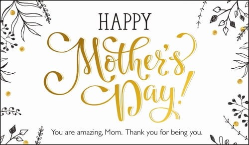 Happy Mother's Day - You are amazing, mom! ecard, online card