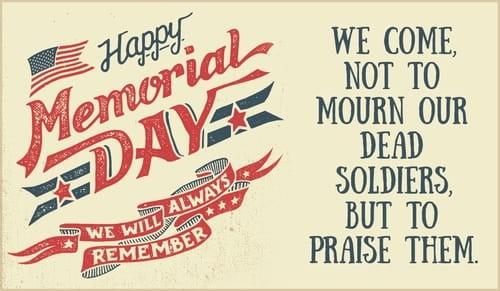 Happy Memorial Day  ecard, online card
