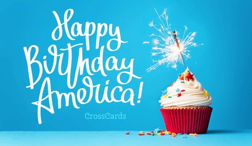 Happy Birthday America! ecard, online card