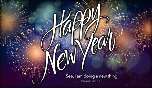 Happy New Year - Doing a New Thing