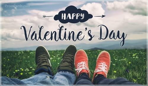 Happy Valentine's Day ecard, online card