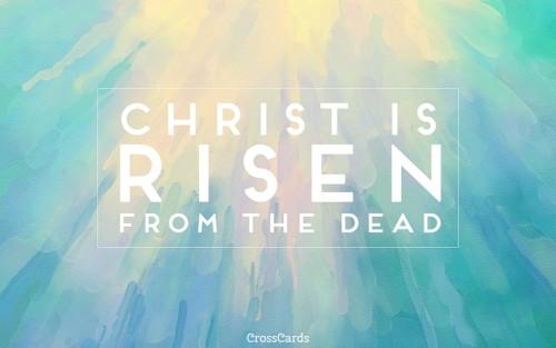 April 2017 - Christ is Risen