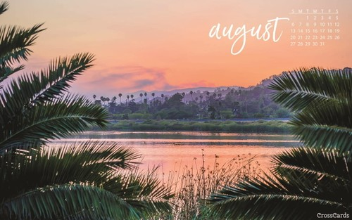 August 2017 - Tropical Sunset