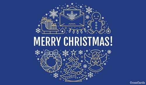 Merry Christmas! ecard, online card