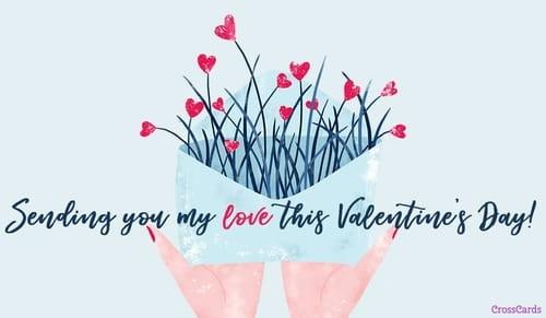 Sending You My Love ecard, online card