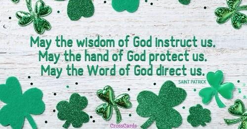 Saint Patrick ecard, online card