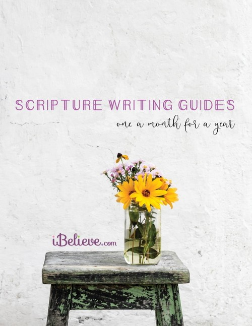 Scripture Writing Guides - One a Month for a Year