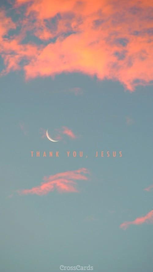 Thank You, Jesus ecard, online card