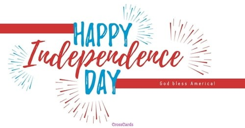 Happy Independence Day ecard, online card