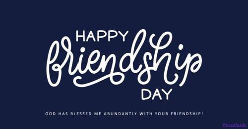 Happy Friendship Day! (8/5)
