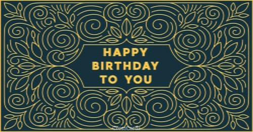 Happy Birthday to You ecard, online card