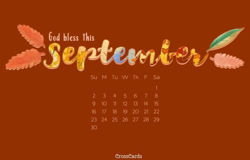 September 2018 - God Bless