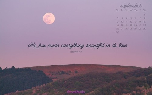 September 2018 - Purple Moon