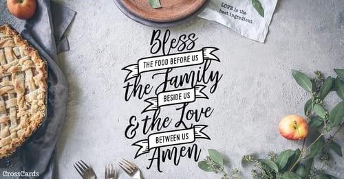 Blessing ecard, online card