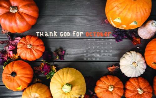 October 2018 - Thank God