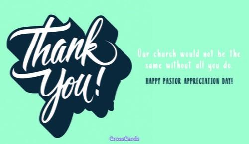 Happy Clergy Appreciation Day!